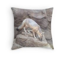 Lovely Fox Throw Pillow