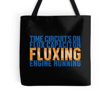 Back To The Future - Fluxing - Colored Clean Tote Bag