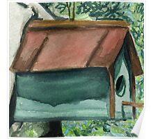 Tallac Birdhouse 1 Poster