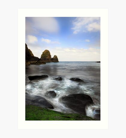 Green Rock- Nohoval Bay Cork Art Print