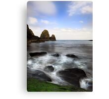 Green Rock- Nohoval Bay Cork Canvas Print