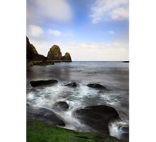 Green Rock- Nohoval Bay Cork Photographic Print