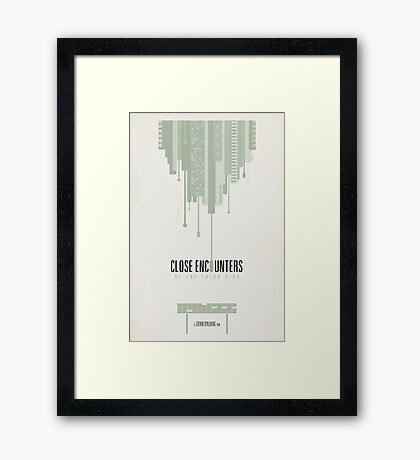 Close Encounters of the Third Kind Framed Print