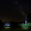 Jeep Astrophotography by CJ Fuchs