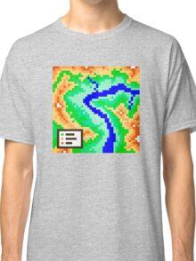Pixel Topography Classic T-Shirt