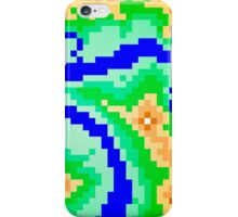 Pixel Topography iPhone Case/Skin