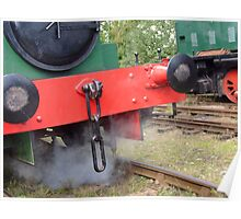 Red on Green Shunt Poster