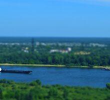 Volga river by Valeriy  Pisanov