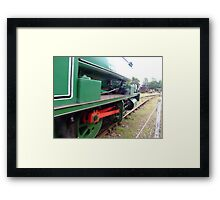 Red Driving Force Framed Print