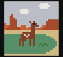 Deer in Meadow One Piece - Short Sleeve