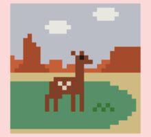 Deer in Meadow Kids Tee