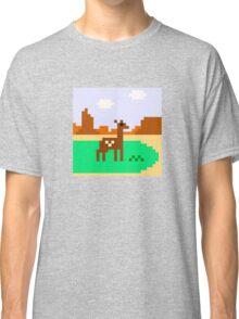 Deer in Meadow Classic T-Shirt