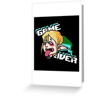 Link - GAME OVER Greeting Card