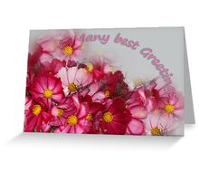 Many best Greetings Greeting Card
