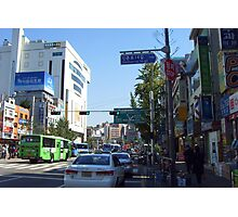 street in seoul Photographic Print