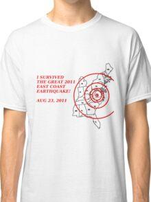 I Survived the East Coast Earthquake Classic T-Shirt