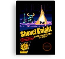 Shovel Knight for NES Canvas Print