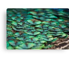 Blue Visions Canvas Print