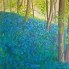 Bluebell Wood, Ilkley  by Susan Duffey