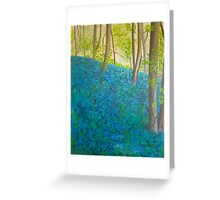 Bluebell Wood, Ilkley  Greeting Card
