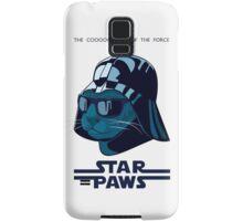 Darth Kitty - Imperial blue Samsung Galaxy Case/Skin