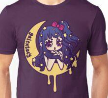 Werepop - galaxy moon starry night girl Unisex T-Shirt