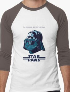 Darth Kitty - Imperial blue Men's Baseball ¾ T-Shirt