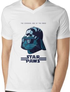 Darth Kitty - Imperial blue Mens V-Neck T-Shirt