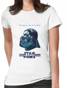 Darth Kitty - Imperial blue Womens Fitted T-Shirt