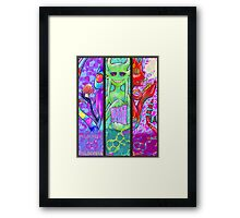 The machine elfs Framed Print