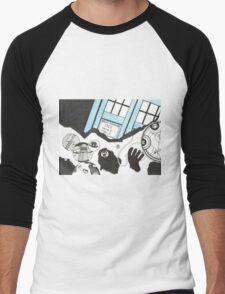The Medusa Cascade Men's Baseball ¾ T-Shirt