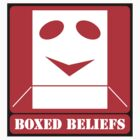 BOXED BELIEFS (STICKER) by Anthony Trott