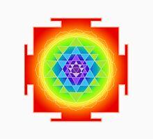 Sri Yantra Chakras Color T-Shirt