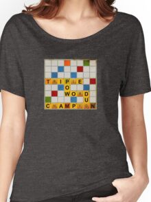 Triple Word Champion Women's Relaxed Fit T-Shirt