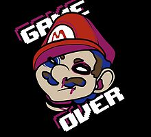 Mario - GAME OVER by thevirtualboy