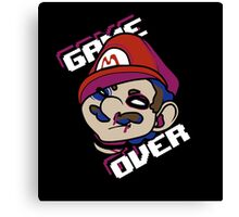 Mario - GAME OVER Canvas Print