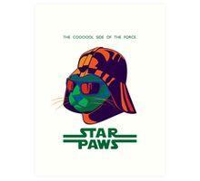 Darth Kitty - Disco Art Print