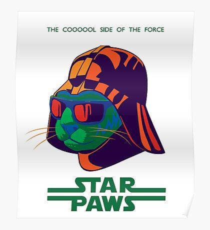Darth Kitty - Disco Poster