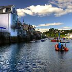 Fowey Harbour by Rob Hawkins
