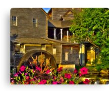 The Old Mill (HDR) Canvas Print