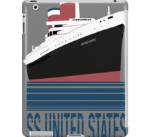 The SS United States - Bon Voyage iPad Case/Skin