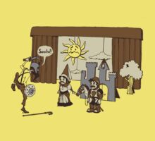 Don Quixote crashes the school play by drawsgood