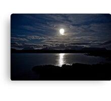 Assynt By Moonlight Canvas Print