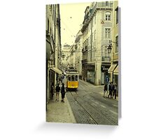 Tram 28 Greeting Card