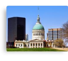 Saint Louis Skyline (USA) Canvas Print