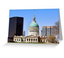 Saint Louis Skyline (USA) Greeting Card