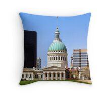 Saint Louis Skyline (USA) Throw Pillow