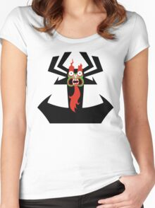 Aku!! Women's Fitted Scoop T-Shirt
