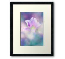 Fleur IV Framed Print
