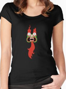 Aku face Women's Fitted Scoop T-Shirt